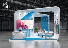 NBF , exhibition stand, Careers UAE Dubai on Behance Digital Kiosk, Digital Signage, Exhibition Stall Design, Exhibit Design, Exhibition Stands, Street Marketing, Guerrilla Marketing, Reception Desk Design, Web Banner Design