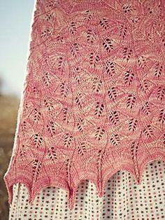 calico shawl by Andrea Rangel
