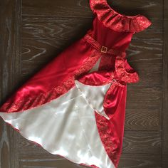 Elena of Avalor Dolly and Me Matching Costume Dress by SewCuteDollyAndMe on Etsy https://www.etsy.com/listing/465248606/elena-of-avalor-dolly-and-me-matching