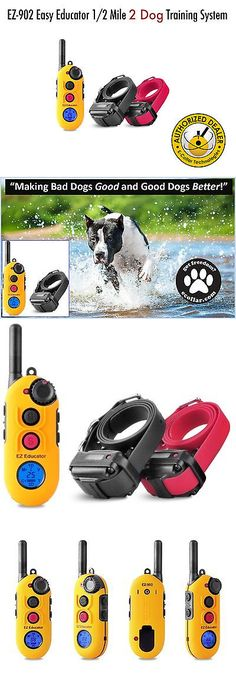 Other Dog Training and Obedience 146245: Ez-902 Easy Educator 1/2 Mile Two Dog Training System Brand New! BUY IT NOW ONLY: $309.99