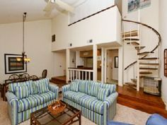 """This 2nd Floor """"Pet Friendly"""" 1BR + Loft / 2BA Villa has New carpet and New FurnitureVacation Rental in Palmetto Dunes from @HomeAway! #vacation #rental #travel #homeaway"""