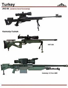 Турция: MKE JNG-90, Kalekalip-Tubitak KNT-308, ...