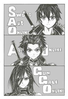 Kirito || Can't wait for Gun Gale Online!!