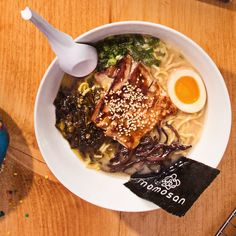 Momosan Ramen & Sake (@momosanramen)   Twitter Masaharu Morimoto, Ramen Restaurant, Seattle Food, Iron Chef, Yummy Food, York, Twitter, Places, Kitchens