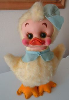 Super RARE Vintage Made in USA The Rushton Company Rubber Face Easter | eBay