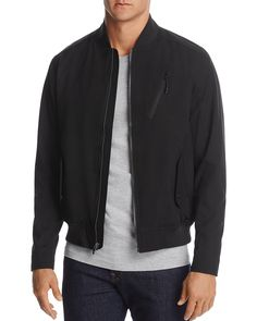 Hawke & Co with Burkman Bros Bomber Jacket - 100% Exclusive  PRICE $195.00 COLOR: Black Black   Green