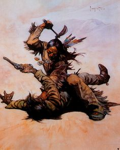 Frank Frazetta Paintings