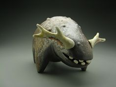 Antlered Beast by Eva Funderburgh, via Flickr