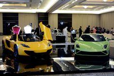 McLaren Spider & a Lamboghini by Al Wajba Motors Mclaren 12c, Doha, Luxury Cars, Motors, Spider, Vehicles, Sports, Fancy Cars, Hs Sports