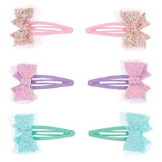 Shop Claire's for the latest trends in jewelry & accessories for girls, teens, & tweens. Find must-have hair accessories, stylish beauty products & more. Cute Diy Hair Accessories, Claire's Accessories, Diy Hair Bows, Diy Bow, Diy Hair Clips, Barrettes, Hair Jewelry, Diy Hairstyles, Hair Beauty