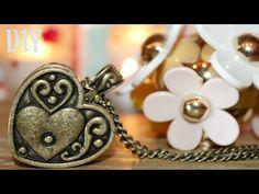 DIY solid perfume in a locket