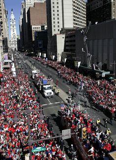 Phillies World Series Parade