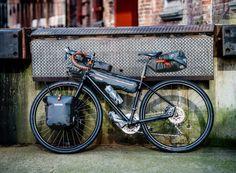 In use (Slate) Biker, Urban Bike, Commuter Bike, Fat Bike, Touring Bike, Camping Equipment, New Adventures, Day Tours, Cars