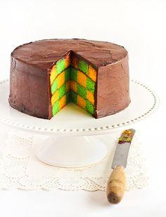 Gâteau Damier sans moule spécial