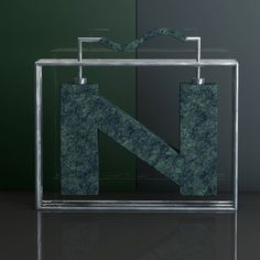 Faltaba nuestra Ñ @36daysoftype  #3d #cinema4d #c4d #render #daily #graphic #design #typography #blue #light #shadow #silver #marble #green #black #glass #metal #mograph #camera #3dtype #letter #abstract #everyday #type #photoshop #ñ #reflection #36daysoftype by hollmed