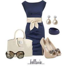 """Absolutely Stunning """"Blue Champagne"""" Dress (fb)"""