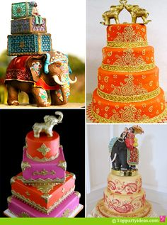 Indian Elephant Birthday Cakes For Kids And Adult