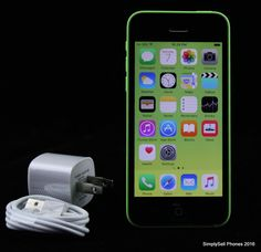 Apple iPhone 5c Model A1532 Green 16GB Unlocked GSM T-Mobile Clean ESN #Apple #Smartphone