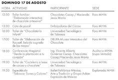 Del 15 al 17 de agosto, el Museo de Historia Mexicana llevará a cabo el Festival Del Cacao al Chocolate. La entrada es libre.