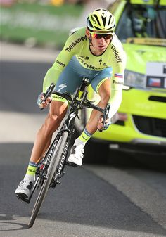 #TDF2016 Roman Kreuziger of Czech Republic and Tinkoff in action during stage 18 of the Tour de France 2016 a time trial of 17km between Sallanches and Megeve...