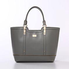 2015 de la moda mujeres de los bolsos de cuero del bolso de las mujeres de la marca BOLSAS Femininas marrón negro bolsas grises – MXN $ 557.86