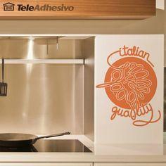 Wall Stickers Italian Quality Spaghetti