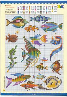 ru / Fotografie # 13 - № 21 - Orlanda Cross Stitch Sea, Cross Stitch Boards, Cross Stitch Animals, Funny Cross Stitch Patterns, Cross Stitch Designs, Cross Stitching, Cross Stitch Embroidery, Sewing Art, Loom Patterns