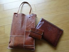 Leather work | Island Gurashi occasional leather work