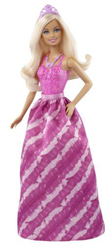 Barbie Fairytale Princess Fashion Doll, Pink « Game Searches