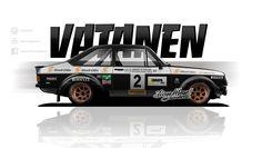 AXESENT (Posts tagged mk2) Classic Cars British, Street Racing Cars, Car Illustration, Japan Cars, Ford Escort, Car Tuning, Car Wrap, Art Cars, Custom Cars