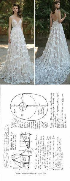 Simple pattern wedding...♥ Deniz ♥