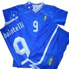 TG. Medium COMPLETO UFFICIALE #Italia FIGC Mario #BALOTELLI  - maglietta #tshirt