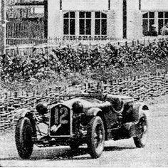 24h LE MANS 1933 - ALFA ROMEO 8c 2300  #12 -  Brian Lewis - Tim Rose-Richards