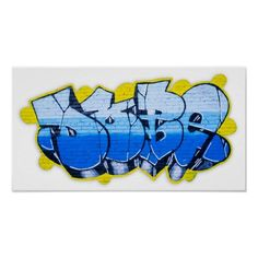 Customizable #Adolescence #Blue#Graffiti #Brick #Brick#Wall #City #Color #Concepts #Cool #Creativity #Culture #Design #Entertainment #Forbidden #Freedom #Graffiti #Grunge #Igorsin #Image #Life #Lifestyle #Paint #Photography #Rebellion #Street #Teenager #Urban #Wall #Young Blue graffiti on a brick wall poster available WorldWide on http://bit.ly/2gDa8Q0
