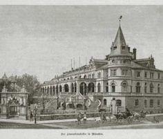 Löwenbräukeller at Stiglmaierplatz, 1888