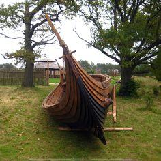 """Корабль викингов, реконструкция """"Понеманское городище"""""""