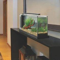 Inspirational bathroom design fluval edge aquarium 23l in - Petit aquarium design ...