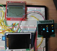 Low-Power LCD Smackdown   Big Mess o' Wires