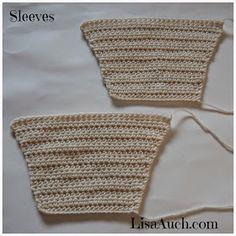 Gratis haak patronen en modellen door LisaAuch: Haak baby Jongen Cardigan patroon met capuchon (Easy Hooded Crochet Cardigan Patroon GRATIS) 3 maten