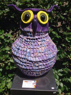 Ceramic owl,keramiek uil