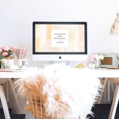 Love this desk and accessories!