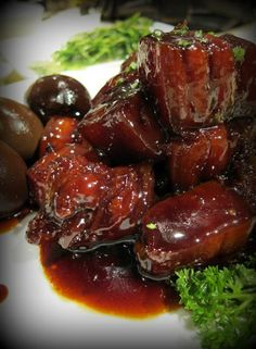Hong Shao Rou. I could eat this with rice everyday.