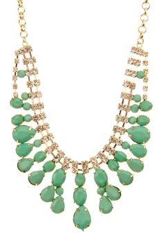 Minty Luxe Necklace