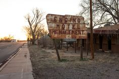 abandoned places, rusted sign, americana