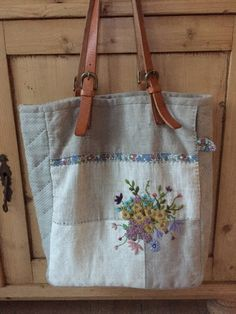 수업공지 : 네이버 블로그 Key Pouch, Burlap, Reusable Tote Bags, Embroidery, Pencil, Craft, Ideas, Bags, Needlepoint