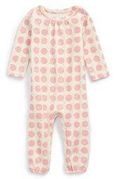 Stem Baby Organic Cotton Blend Romper (Baby Girls)