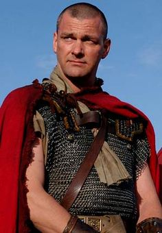 Rome -An Irish actor  Ray Stevenson portrays Titus Pullo.  Pullo was sometimes a rogue, sometimes a conscience, sometimes a fool, sometimes a lover, and often a stone cold killer.