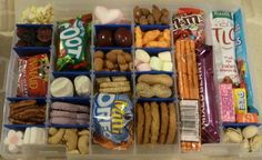 Travel & Vacation: Road Trip Snack Bins - Blessings Multiplied