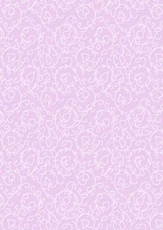 Swirly Vines Background in Pink on Craftsuprint designed by Karen Adair - This background paper has a lovely white swirly vine pattern on. If you like this check out my other designs, just click on my name. - Now available for download!