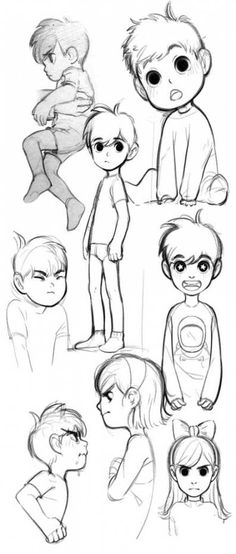 Breathtaking Draw People Cartoon Realistic Ideas Cartoon Drawing More Danny Phantom sketches. Danny and Jazz as little kids! I drew Jazz with short hair before I remembered the episode where they showed them as little kids and she had long hair and a Cartoon Hair, Drawing Cartoon Characters, Cartoon Sketches, Cartoon Kids, Art Sketches, Drawing Cartoons, How To Draw Cartoons, How To Draw Characters, How To Draw Chibi